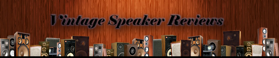 Vintage Speaker Reviews