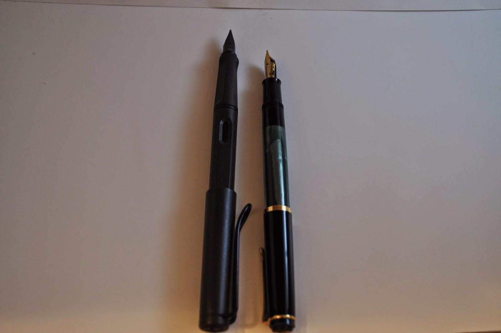 Pelikan M200 vs Lamy Safari