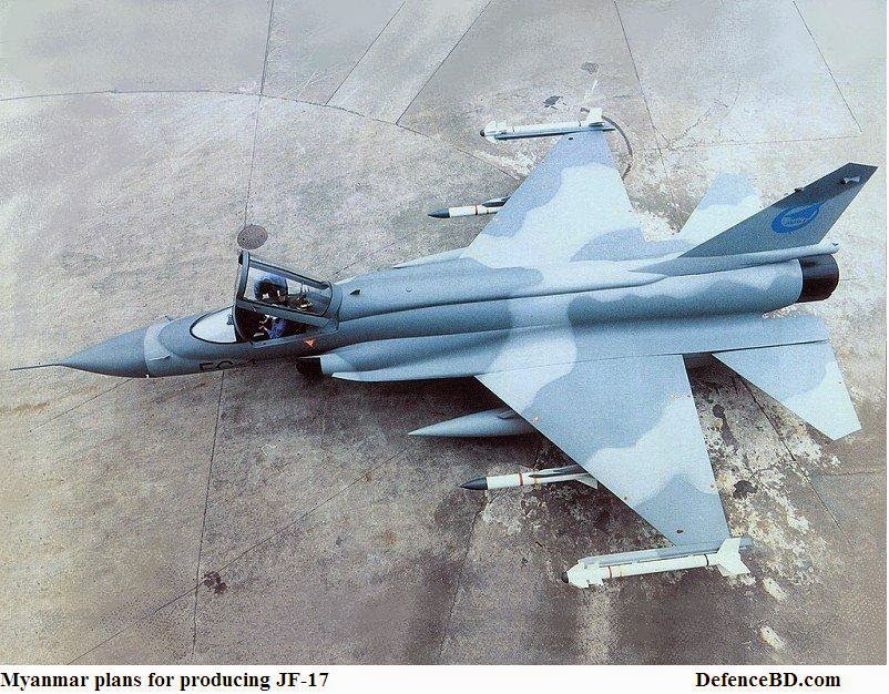 Myanmar Plans for producing Jf-17