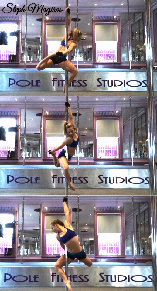 #pole #fitness #gymnastics #strength #flexibility