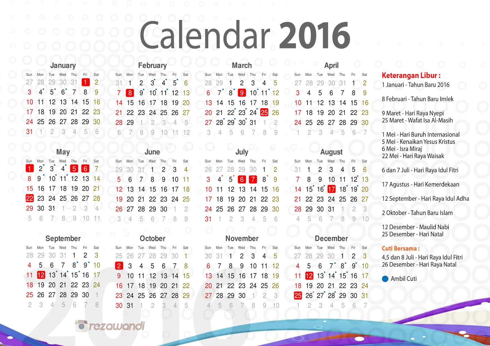 Lebaran Idul Fitri Tahun 2016 Tanggal Berapa 2016
