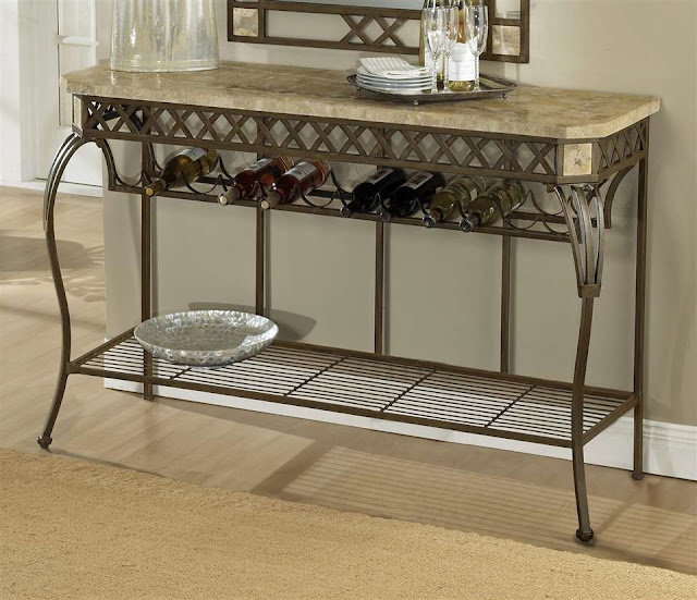 awesome long and large wrought iron end tables with the place store on the below of table