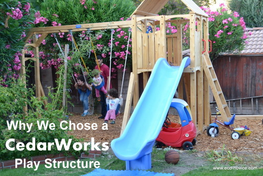 Backyard Playset Reviews buying an eco-friendly outdoor wood play structure: why i chose
