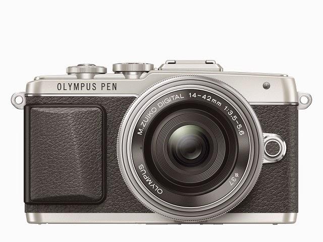 Fotografia della Olympus PEN E-PL7 argento