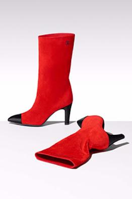 Botas de colores Chanel