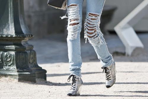 Amados Jeans Rasgado