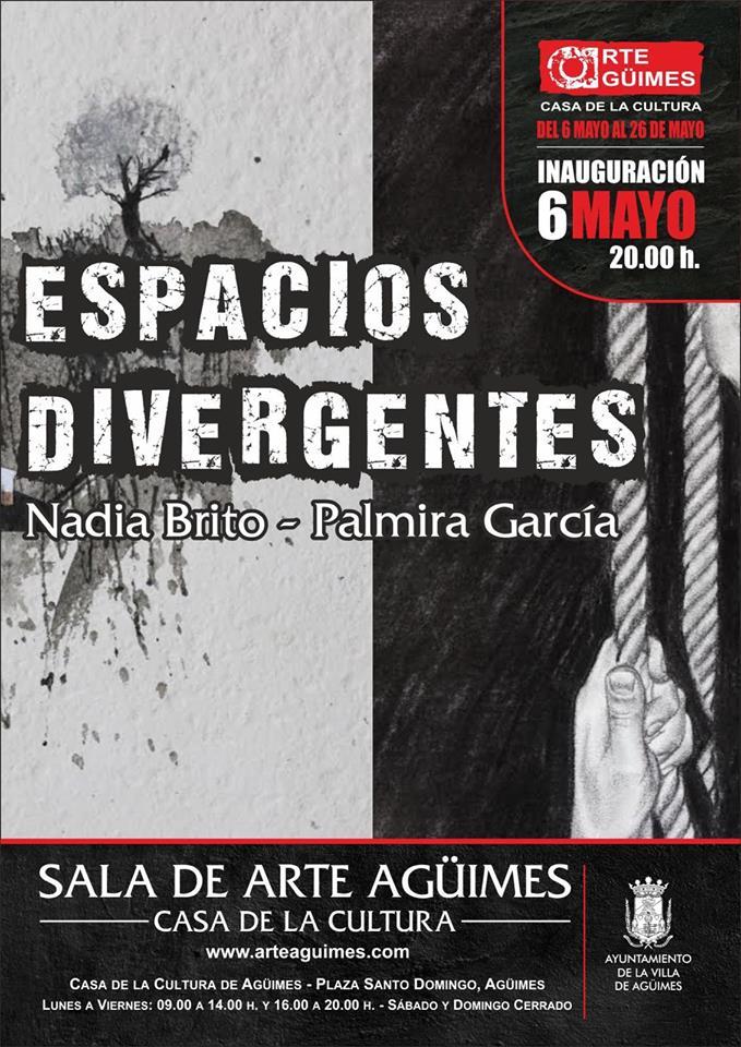 """""""Espacios Divergentes"""" en la Sala de Arte Agüimes"""