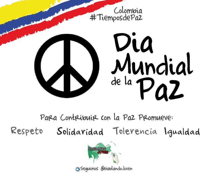 1 de enero dia mundial de la paz:
