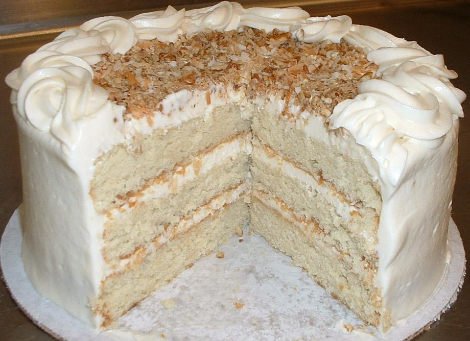 Classic Italian Wedding Cake