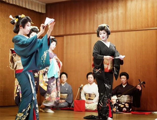 Geisha in Niigata
