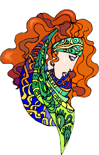 Beauty Queen Face Free Clipart