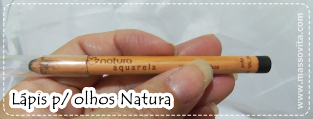 Lápis p olhos preto Natura