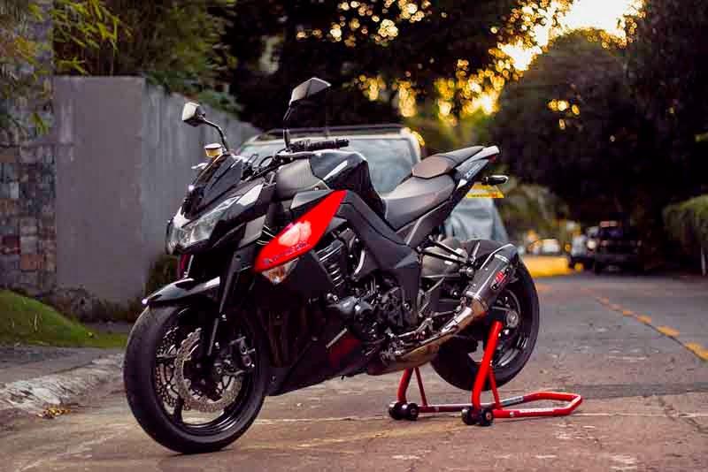 Kawasaki Z1000 Modif