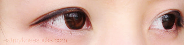 These dark brown circle lenses from Klenspop provide a significant amount of enlargement and a natural color.