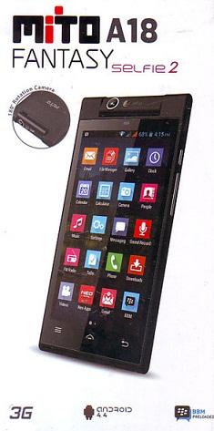 HP Android Murah Harga Dibawah 1 Juta dari Mito A18 Fantasy Selfie 2