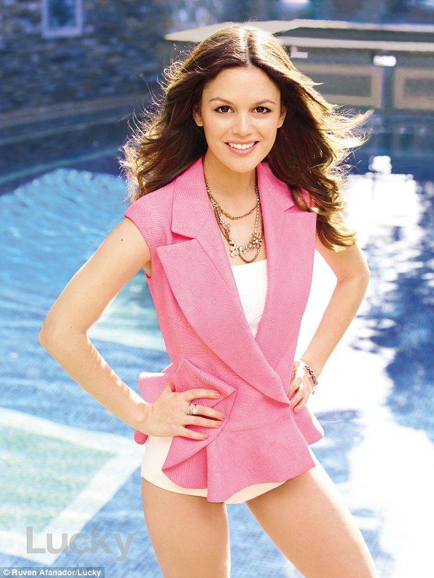 Rachel Bilson covers Lucky magazine, April 2012