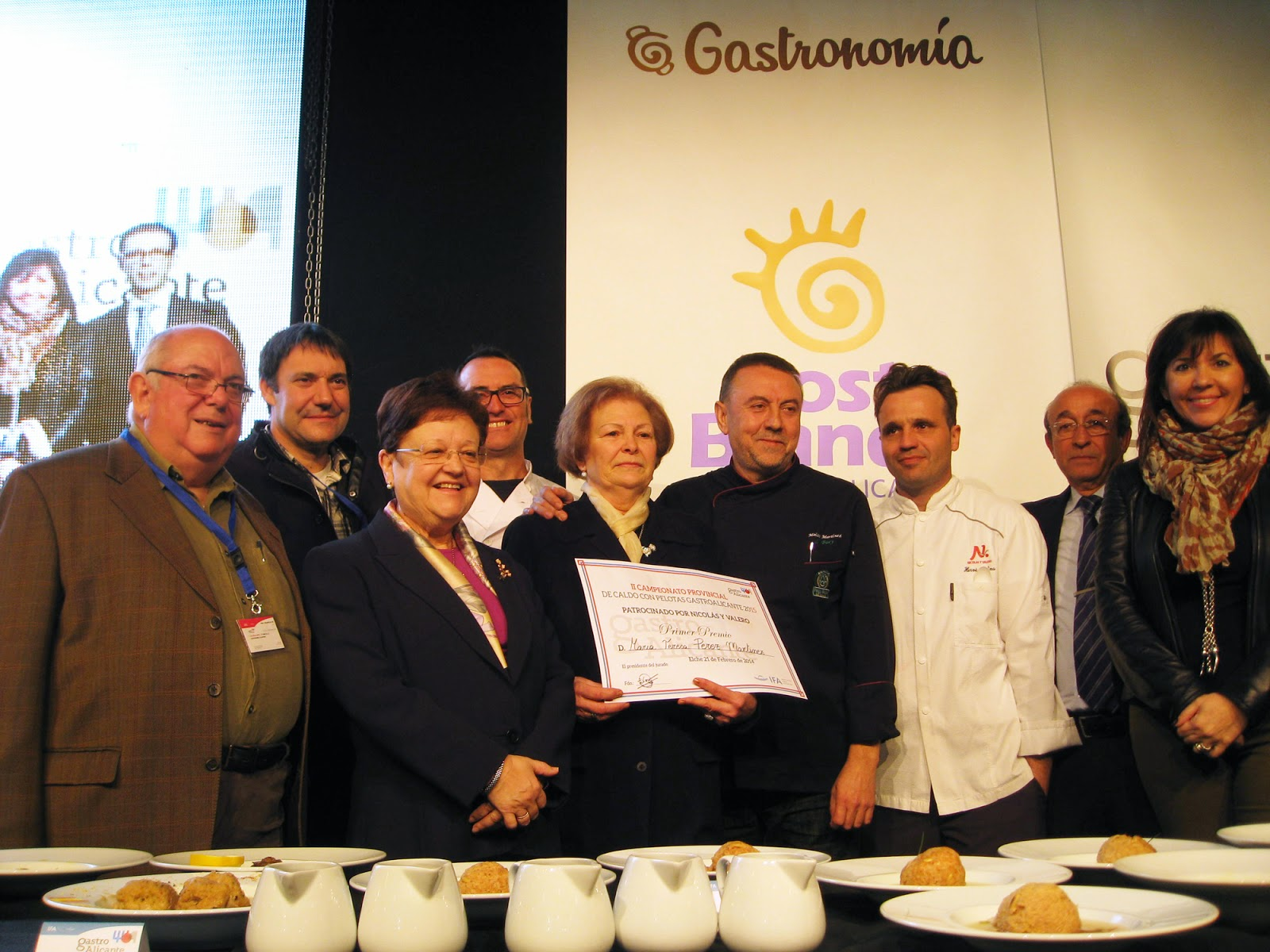 GastroAlicante 2015 - Concurso Caldo Pelotas
