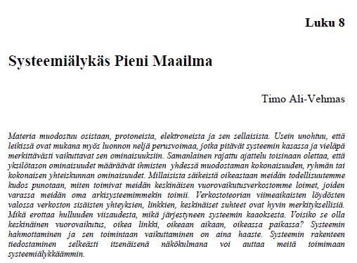 http://www.tamora.fi/images/Meri-Lappi/systeemilyks%20pieni%20maailma%20timo%20ali-vehmas.pdf