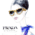 Prada Sunglasses Illustration