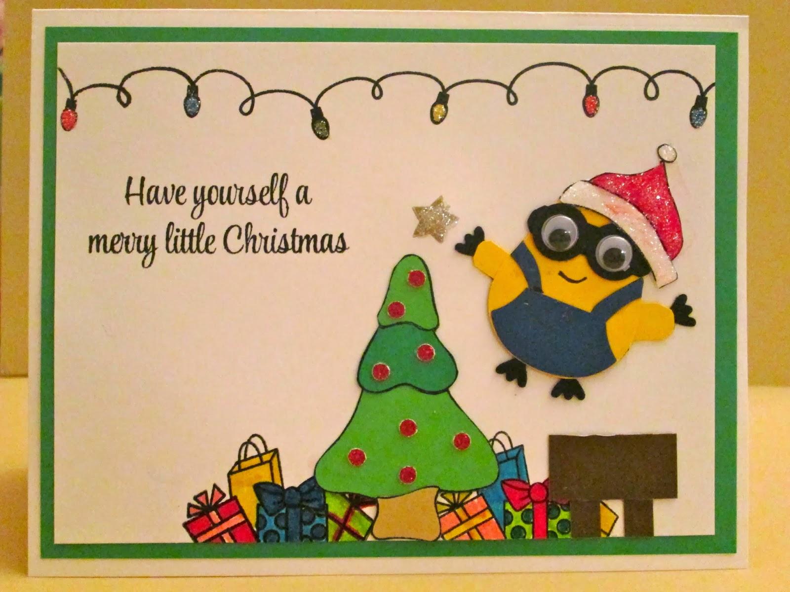 Crafty Paws By Trisha A Minion Christmas