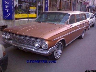 bakımlı bir klasik bir otomobil