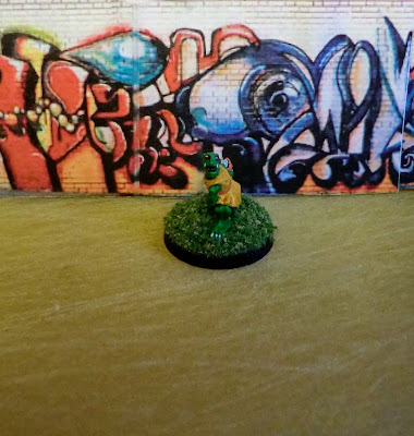 Goblin, painted, mystery, stone club, Pricne, August, Mold, Goblin