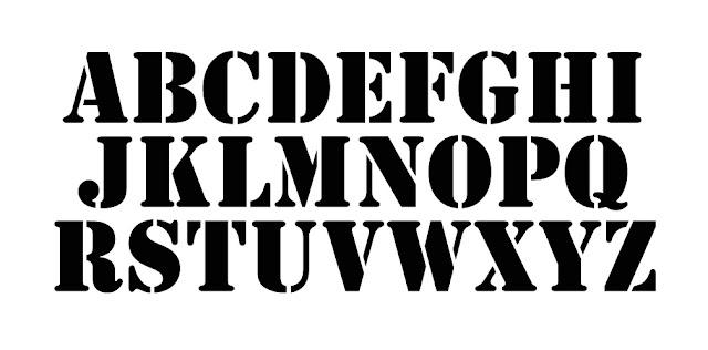 Stencil Graffiti Letters Stencils like the letters