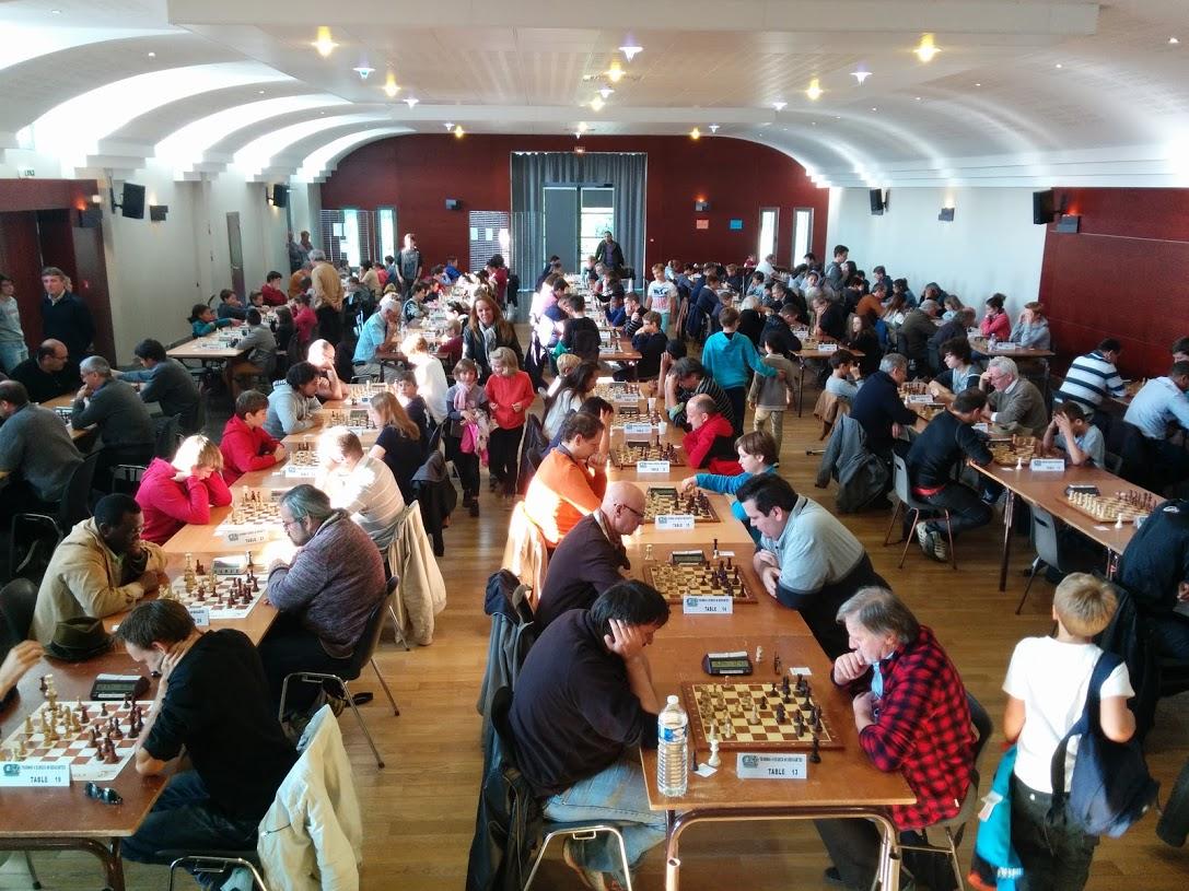 Rapide de Descartes 2015 -- 158 joueurs