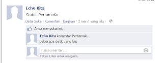 komen dan like status facebook