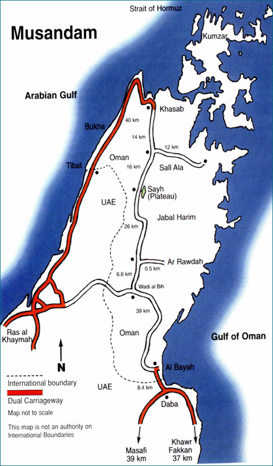 Jebel Harim-From Dibba to Khasab