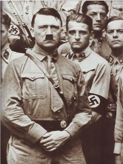 Adolf Hitler merupakan perwujudan monster dalam sejarah Biografi Sejarah Adlof Hitler