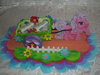 My Little Pony Kids Party centerpieces