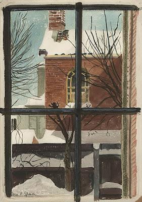 Vera Spencer painting