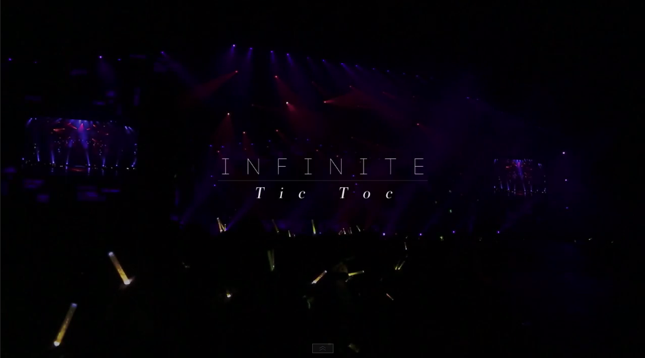 infinite tic toc live official mv