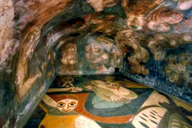 Artes visuales southern cross muralismo mexicano for El mural de siqueiros
