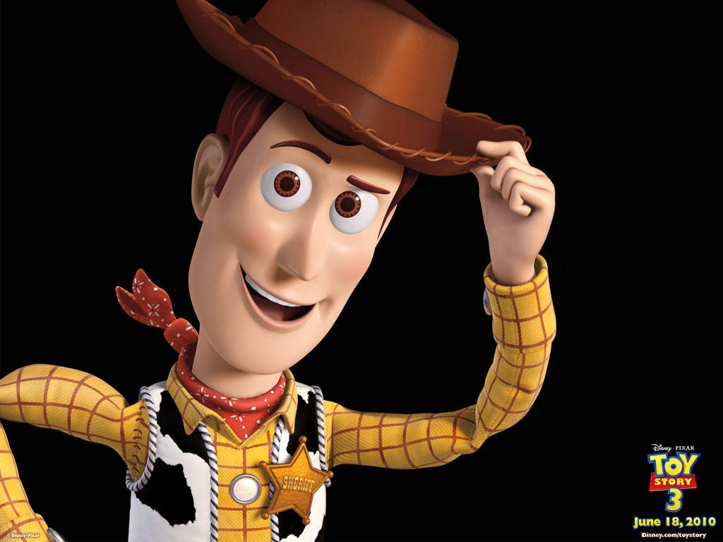 ... paper. The cover had a picture of Woody saying HOWDY PARTNER