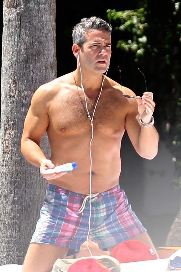Tony Le Club Kid My Boo Andy Cohen Shirtless