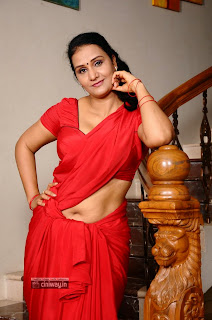 Actress-Apoorva-Latest-Stills-in-Saree