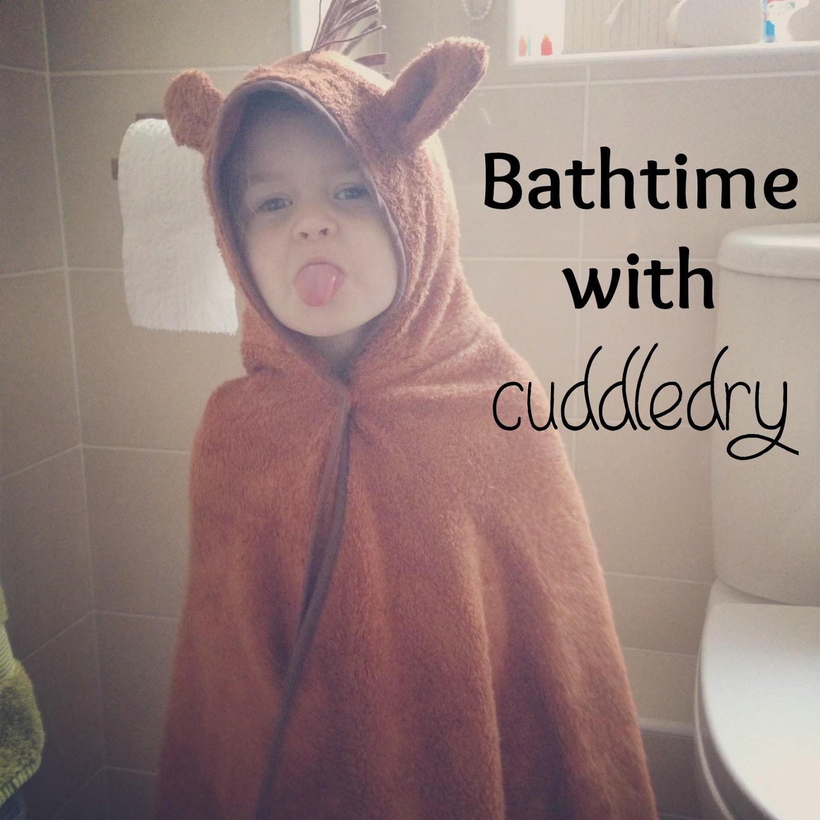 Funny Girl at Bathtime