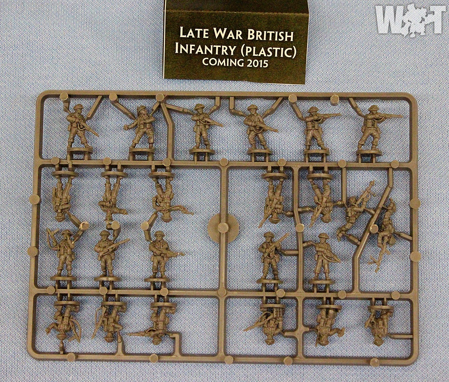 Battlefront's 15mm plastic LW British chalked up for 2015!