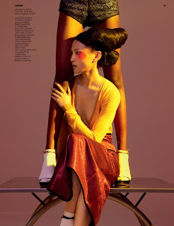 >Flaviana Matata & Ling Ling Kong pour Dazed & Confused