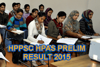 Himachal HPAS Prelim Examination 2015 Result Announced, HPPSC HPAS HAS Result 2015 Merit List, HPAS Exam held on June 7. HPPSC HPAS Preliminary Exam Selected candidates list 2015, www.hp.gov.in HPAS Result 2015, HPPSC HAS Merit List Download in pdf