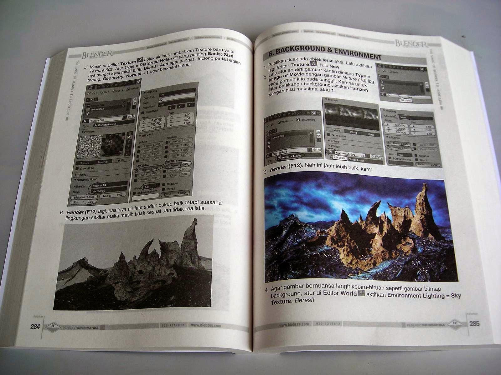 Blender 2 6 Character Modeling Tutorial : Buku blender d terlengkap tutorial bahasa indonesia