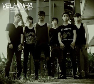 Velhinha Band Trancecore / Post Hardcore Margonda Depok Foto Personil Logo Artwork wallpaper