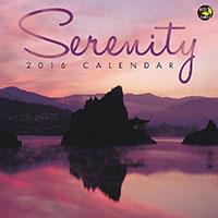 Serenity 2016 Wall Calendar