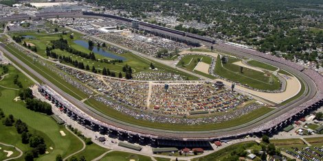 Indianapolis Motor Speedway in Indiana