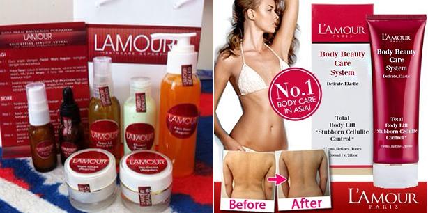 Product Lamour Skin Care Expert Indonesia - PAKET PERAWATAN WAJAH LAMOUR (FACE SERIES)