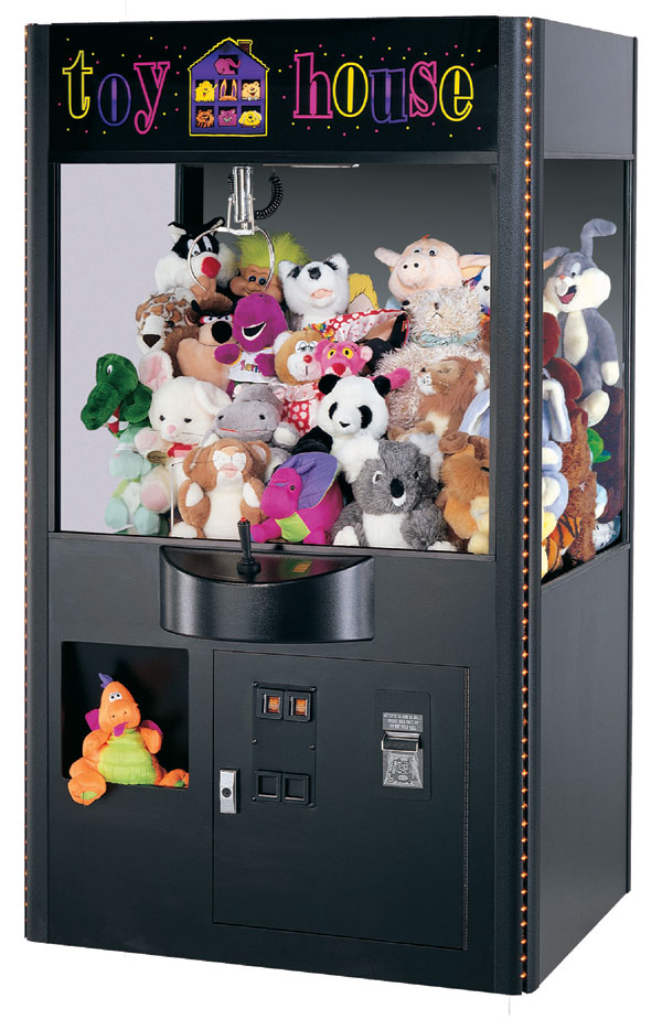 Claw Machine Plush Toys : Claw machine network history coinstar