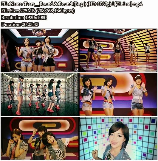 Download MV T-ara (티아라) – Round & Round (빙글빙글) (Bugs Full HD 1080p)