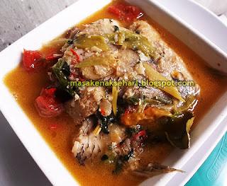 Resep Sup Gurame Kemangi Asam Pedas